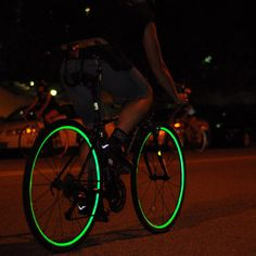 Best bicycle buys: Shop Fiks:Reflective Bicycle Wheel Stripes. Precision cut self-adhesive retro-reflective Wheel Stripes for bicycles. Be seen at night and increase your safety.