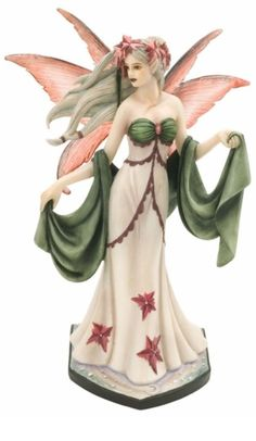 Name: Yule Faery Artist: Jessica Galbreth Size: H x L x W Limited Edition: 4800 pcs Type: Yule / Christmas Fairy Collectible Item Number: Product Line: Dragonsite / Fairysite: Jessica Galbreth Fairy Collectible Fairy Statues, Fairy Figurines, Amy Brown, Fantasy Figures, Fantasy Art, Fantasy Fairies, Disney Princess Figurines, Fairy Paintings, Fantasy Gifts