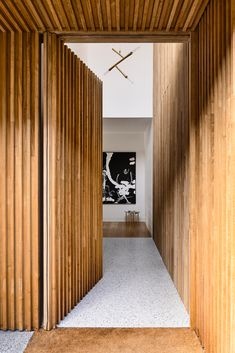 Brighton Houses, Gable House, Timber Flooring, Brickwork, Open Plan Kitchen, Guest Suite, Open Plan Living, Apartment Interior, Decoration