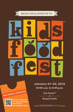 Food Festival Plakat Beispiel :: Katewyld Source by jjklg Related posts: No related posts. Festival Flyer, Festival Posters, Food Festival, Kids Workshop, Event Branding, Branding Ideas, Banner, Cooking Classes For Kids, Bryant Park