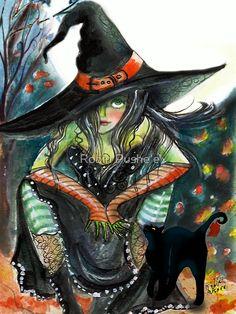 Witchy Attitude by Robin Pushe\'e
