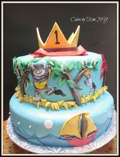 """Where the Wild Things Are"" Cake"