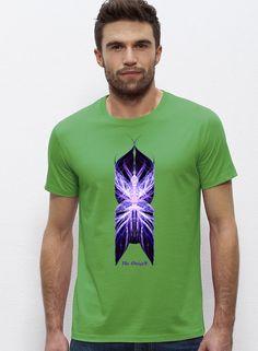 """Diseño """"Némesis"""" Camisetas personalizadas Hombre colores: Verde camisetastheorigen.com"""