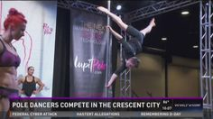 Pole dancers compete in championships in the Crescent City. They look amazing!