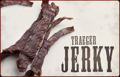 Make without the sugar and use diet soda. Jerky is good any time of day as a quick snack and energy boost, but a coffee- and cola- infused version is a natural for a mid-morning break. Smoker Grill Recipes, Jerky Recipes, Traeger Recipes, Grilling Recipes, Traeger Bbq, Wood Pellet Grills, Beef Jerky, Venison, Coffee Break