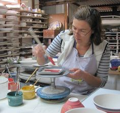 Mary-Lou Pittard - Ceramic Artist - Eltham - Melbourne. Artist Open Studios run 3 weekends each year when you can visit local artists.