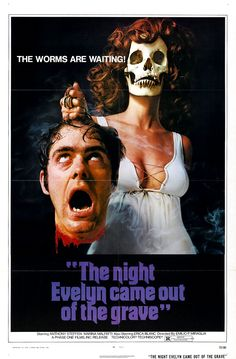 She was PMSing....he blamed her arguing on it. Things took their natural course....The Night Evelyn Came Out of The Grave - 1971