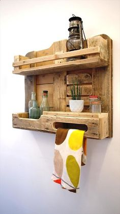 Plans of Woodworking Diy Projects - DIY Ideas To Use Pallets To Organize Your Stuff Get A Lifetime Of Project Ideas and Inspiration!