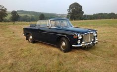 1963 - Rover P5 3.0 Convertible - Only 1 manufactured.