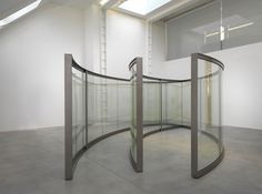 heathwest:  Dan Graham Two 2-Way Mirror Ellipses, One Open, One Closed, 2011-12