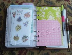 DIY Filofax pen holder #filofax