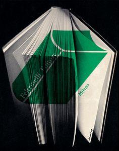 Albe Steiner - Advertisement for the publisher Feltrinelli, 1959.
