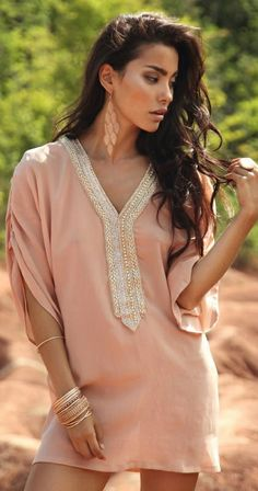 Zeugari Beachwear 2014 >> Alova Tunic