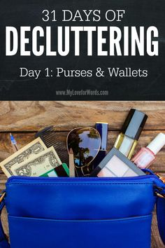 Do you feel like you're drowning in clutter? Join the 31 Days of Decluttering challenge! We'll complete small, 15-30 minutes tasks and get big results in just a month.