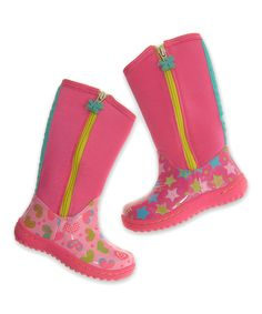 Look at this CHOOZE Celebrate Stomp Boot on #zulily today!