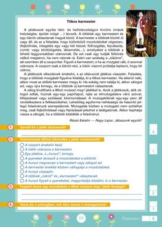 Szövegértést fejlesztő gyakorlatok 3.o. Education, Montessori, Onderwijs, Learning