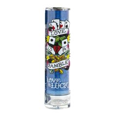 A light electric enticing fragrance for men that introduces an aroma of casual sophistication that is inspired by the night life of Tokyo. Ed Hardy Love & Luck Cologne by Christian Audigier is a refreshing fruity fragrance that is designed on the concept that love is a game you can win or lose. A refreshing dominant fruity accord of bergamot, mandarin orange and orange with a hint of cardamom which eases to an aromatic heart of sage, cypress and violet.