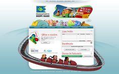 E-ticket do Hopi Hari (2008)