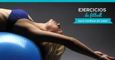 Ejercicios de #fitball para hacer en casa. #yoga #fitness #pilates