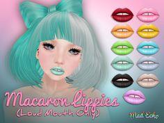Mad Echo - Macaron Lippies