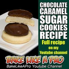 CHOCOLATE CARAMEL SUGAR COOKIES Recipe ►►► CLICK PICTURE for video recipe