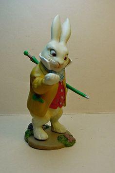 Alice in Wonderland White rabbit is late figure