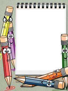 Frame Border Design, Boarder Designs, Page Borders Design, Kids Background, Background Design Vector, Cartoon Background, Powerpoint Background Templates, School Border, Boarders And Frames
