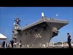 観艦式2012 海上自衛隊初の空母 ひゅうが型護衛艦