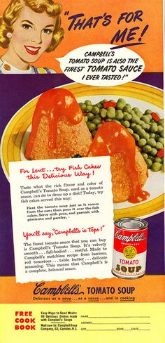 Scary-looking vintage meal. What are those those cone shaped things?