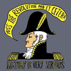 History is Serious Shirt - ladies large