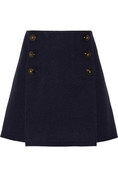 Sonia Rykiel|Boiled wool mini skirt|NET-A-PORTER.COM