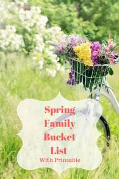 I love each of the seasons for their own reasons. I love the new life and growth in spring. Making Memories I try to be intentional about making memories with the children. I made a summer bucket l… Activities For Boys, Spring Activities, Bucket List Family, Christian Life, Christian Women, Best Blogs, Up Girl, Summer Kids, Things To Do