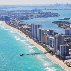 Miami is always a good idea #miami #florida #miamibeach #sobe #southbeach #brickell #Florida by @doinmiami @choosemiami