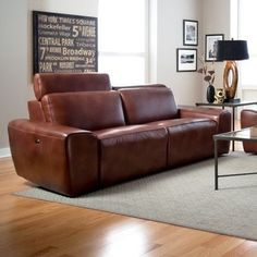 Palliser Furniture Beaumont Reclining Sofa Upholstery: Leather