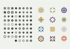 These graphics were created for Busaba Eatha, a wellknown, modern Thai restaurant located in London. This picture font was created and designed for decorative purposes and can be manipulated to create an infinite smount of new patterns or shapes. Graphic Design Typography, Graphic Design Illustration, Logo Design, App Design, Thai Font, Thai Decor, Logo Restaurant, Thai Restaurant, Thai Pattern