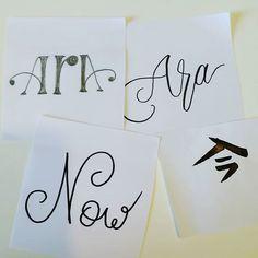 Perquè #ara segueix sent l'únic moment que puc viure decidir i gaudir en la vida la resta dels temps cal que restin a un costat sense molestar però sense desaparèixer #now is the moment #lettering #pencil #drawing