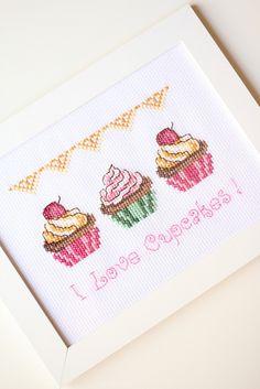 Cross Stitch Kitchen, Crewel Embroidery, Cross Stitching, Pixel Art, Cross Stitch Patterns, Elsa, Diy And Crafts, Sewing, Crochet