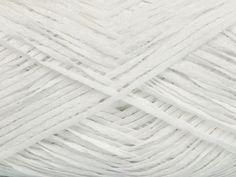 Fettuccia Fine White at NGS NET Yarn Store