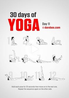 Fitness Style, Sport Fitness, Yoga Fitness, Fitness Tips, Yoga Girls, 30 Day Yoga Challenge, Workout Challenge, Yoga Positions, Yoga Day