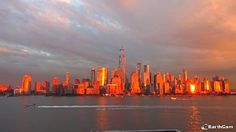 Sunset in NYC 25.10.2017 Trade Centre, World Trade Center, Sunset In Nyc, Memorial Museum, Lower Manhattan, Live In The Now, State Parks, New York Skyline, Travel