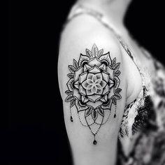 Tattoo designs and meanings, mandala tattoo design, small mandala tattoo, m Mandala Tattoo Design, Dotwork Tattoo Mandala, Small Mandala Tattoo, Sunflower Tattoo Small, Flower Tattoo Designs, 27 Tattoo, Hand Tattoo, Tatoo Art, Trendy Tattoos