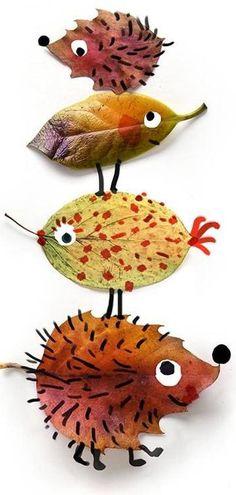 Thanksgiving & Autumn Art for Kids-Herfst / autumn Toddler Crafts, Diy And Crafts, Crafts For Kids, Arts And Crafts, Autumn Crafts, Nature Crafts, Christmas Crafts, Diy Autumn, Projects For Kids