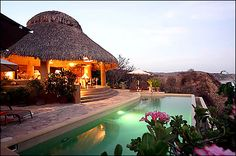 Hotel Casa Pan de Miel, Mazunte, Oaxaca, México.
