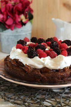 Marquise de chocolate, una tarta irresistiblemente rica