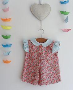 Camisa florzinhas com folhos verdes – _tic_tac_