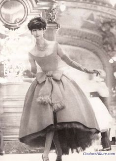 Christian Dior Fringed Dress - 1958