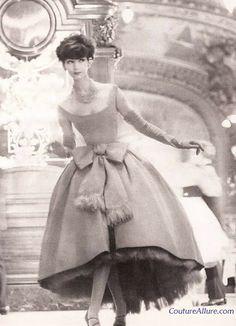 Vintage Fashion: Christian Dior Fringed Dress - 1958