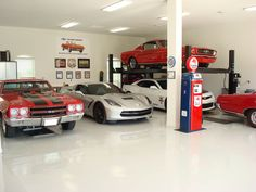 Make the garage another room in your house with http://www.carguygarage.com