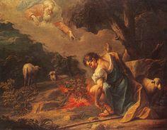 Moses and the Burning Bush | Moses and the burning bush