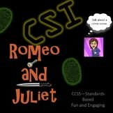 Romeo and Juliet: CSI Classroom Investigation